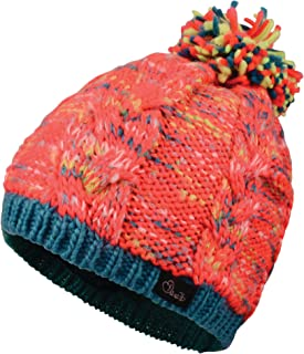 Beb/é-Ni/ños Dare 2b Frequent Beanie Fleece Lined Knitted Reversible Hat Accesorio para la Cabeza
