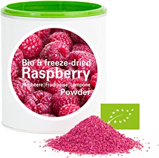 Frambuesa en Polvo - Liofilizado|biológico|vegano|crudo|