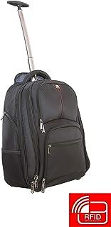 "Verbatim Paris Backpack Roller,Black,Paris Backpack Roller for 17"" Notebook"