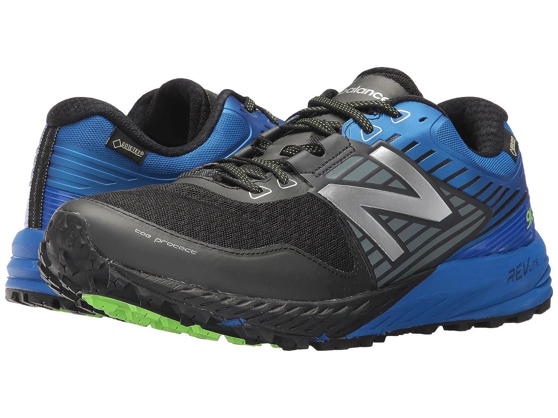 (ニューバランス) New Balance メンズランニングシューズ?スニーカー?靴 910 V4 GTX Black/Vivd Cobalt 9 (27cm) EE - Wide