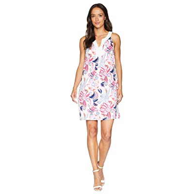 Tommy Bahama Bohemian Blossoms Shift Dress (White) Women