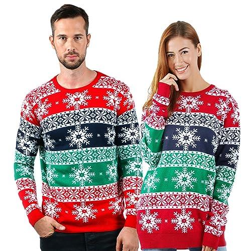 e8fa02fcc Women s Plus Size Christmas Sweaters  Amazon.com