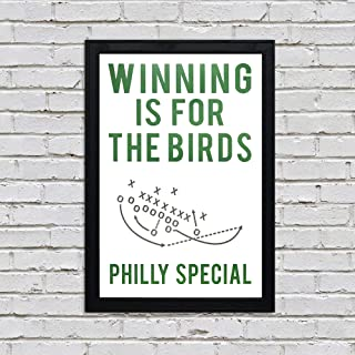 Winning is for The Birds Art Print/Poster