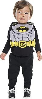 Costume Co. Baby Dc Comics Batman Bib with Removable Cape