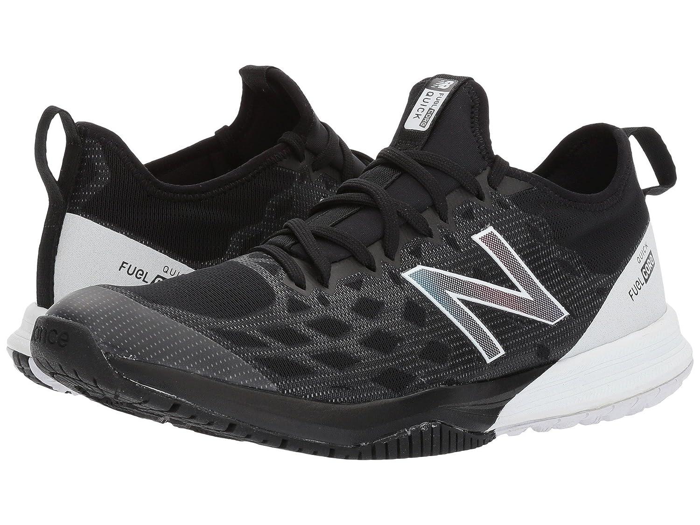 (ニューバランス) New Balance メンズトレーニング?競技用シューズ?靴 MXQIKv3 Black/White 8 (26cm) D - Medium