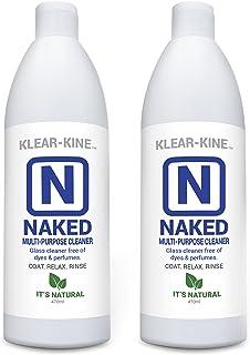 KLEAR Kryptonite Naked Glass Cleaner | Original Clay Based Formula | Tar and Resin Remover | Pipe Cleaner | 470ml Bottle | 2 Pack (32oz)