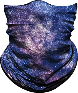Obacle Seamless Bandana for Rave Face Mask Dust Wind UV Sun Protection Durable Neck Gaiter Tube Mask Headwear Bandana Face Mask for Men Women Festival Party Motorcycle Riding Fishing Hunting Outdoor