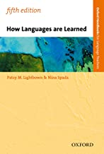 How Languages Are Learned 5th Edition (OXFORD HANDBOOKS FOR LANGUAGE TEACHERS)