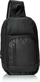 Sling Backpack for Men Cross Body Shoulder Backpack Chest Pack Bag with USB Charging Port Waterproof Lightweight Casual Da...