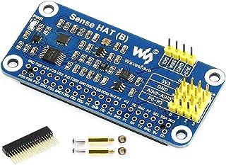 Sense HAT (B) Raspberry Pi 4B/3B+/3B/2B/B+/A+/Zero/Zero W用 Pi 40PIN GPIO拡張ヘッダー オンボードジャイロスコープ 加速度計 磁計 気圧計 温度湿度 マルチセンサー I2Cイ...