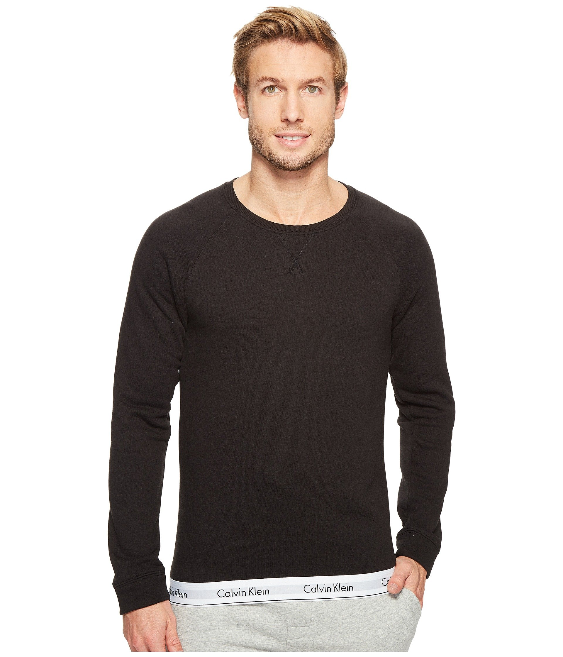 Sweatshirt Stretch Calvin Cotton Klein Modern Underwear Lounge In IYYr8qan