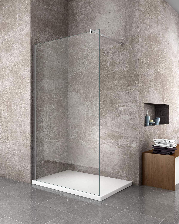 Plato de ducha Grosor 2,6 cm de resina SMC efecto piedra pizarra ...