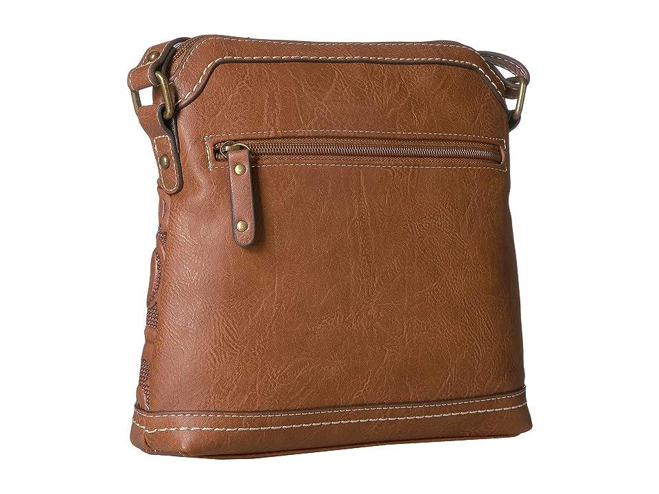 b.o.c. Botanica Mini Crossbody (Saddle) Cross Body Handbags, Brown, b.o.c. Botanica Mini Crossbody (Blush) Cross Body Handbags, Pink