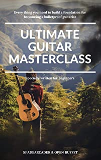 Ultimate Guitar Masterclass: Contains Music theory & Chords
