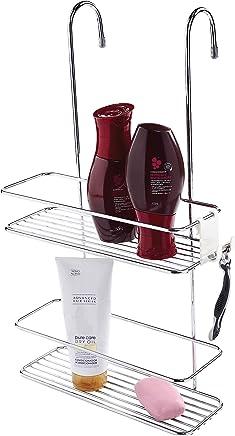 Suporte para Shampoo Duplo de Box Future Cromado
