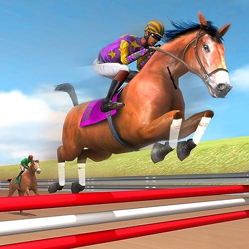 Ultimatives Pferderennspiel: Kostenloses 3D-Reiten