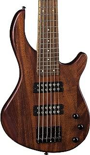 Dean Edge 1 6-String Bass Guitar, Vintage Mahogany