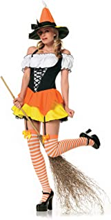 Leg Ave Women's Kandy Korn Witch Costume