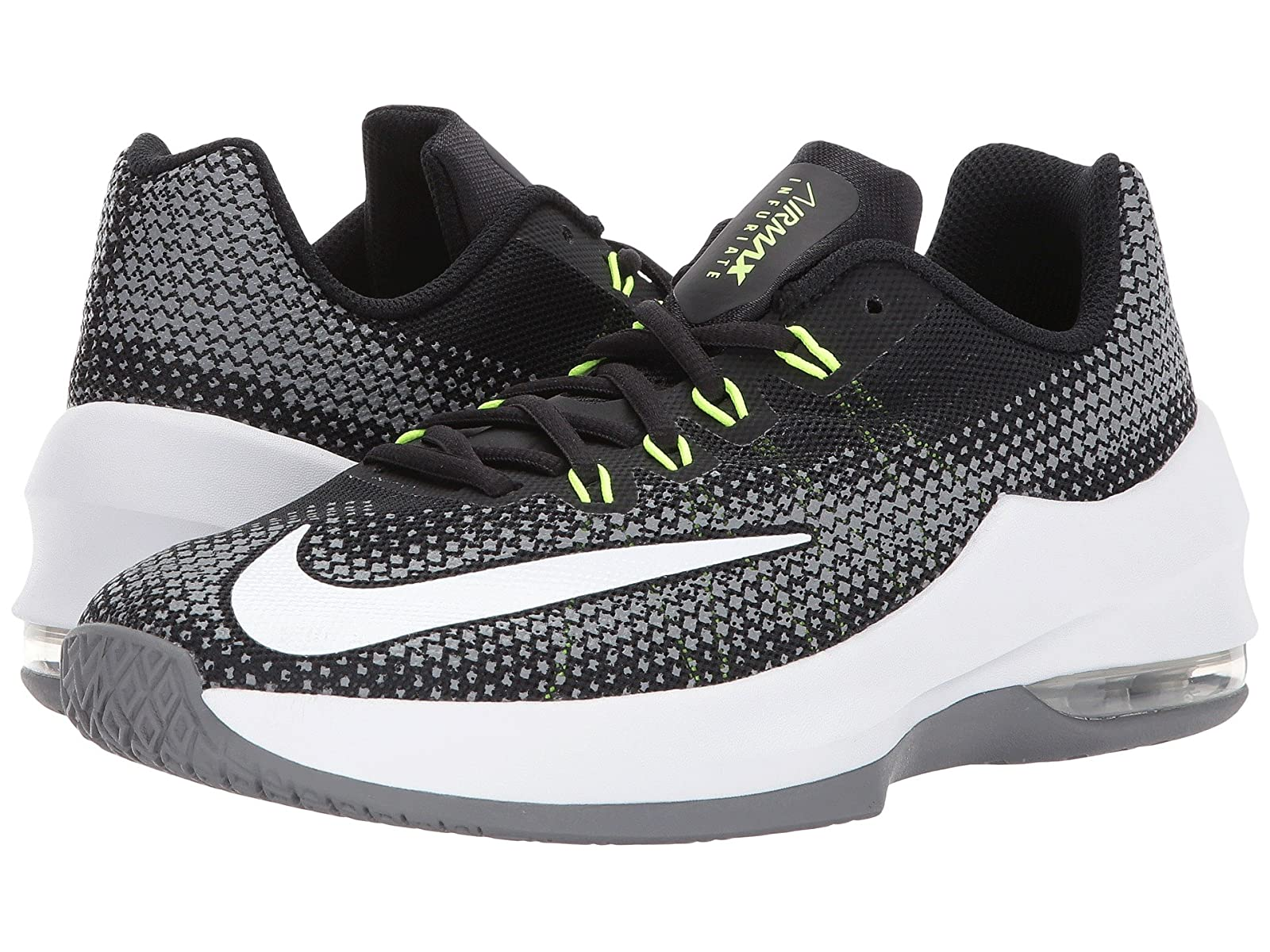 Nike Kids Air Max Infuriate Basketball (Big Kid)Atmospheric grades have affordable shoes