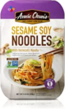 Annie Chun's Sesame Soy Noodles with Vermicelli, Non-GMO Gluten-Free Ready Meal, 9 Ounce, Pack of 6