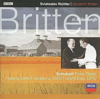 Schubert: Fantasy In F Minor, D. 940 (Op.103) For Piano Duet - 1. Allegro molto moderato - (Live)