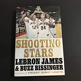 Lebron James Signed Autographed Book Shooting Stars Hardcover Heat Cavs - Upper Deck Certified - NBA Autographed Miscellaneous Items