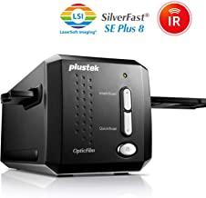 Plustek OpticFilm 8200i SE , 35mm Film & Slide Scanner. 7200 dpi / 48-bit Output. Integrated Infrared Dust/Scratch Removal. Bundle Silverfast SE Plus 8.8 , Support Mac and PC.
