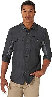 ATG Wrangler Men's Long Sleeve Mixed Material Shirt