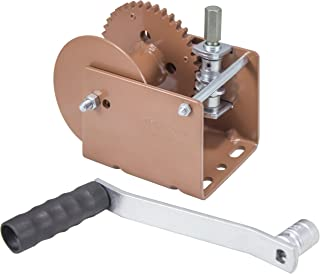 Dutton-Lainson Company (WG2000HEX) Worm Gear Winch with Hex Drive - 2000 lb. Load Capacity