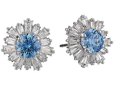 Swarovski Sunshine Pierced Earrings (CZ Fancy Light Blue) Earring