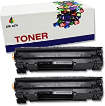 Big Dew 2 Pack CE285A Toner Cartridge Replacement For HP LaserJet Pro P1102W P1102 P1100 M1212NFW M1212NF M1210 M1132 M1130 Printer