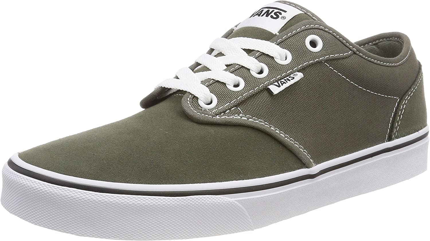 Vans Men's Atwood Canvas Suede Low-Top Sneakers