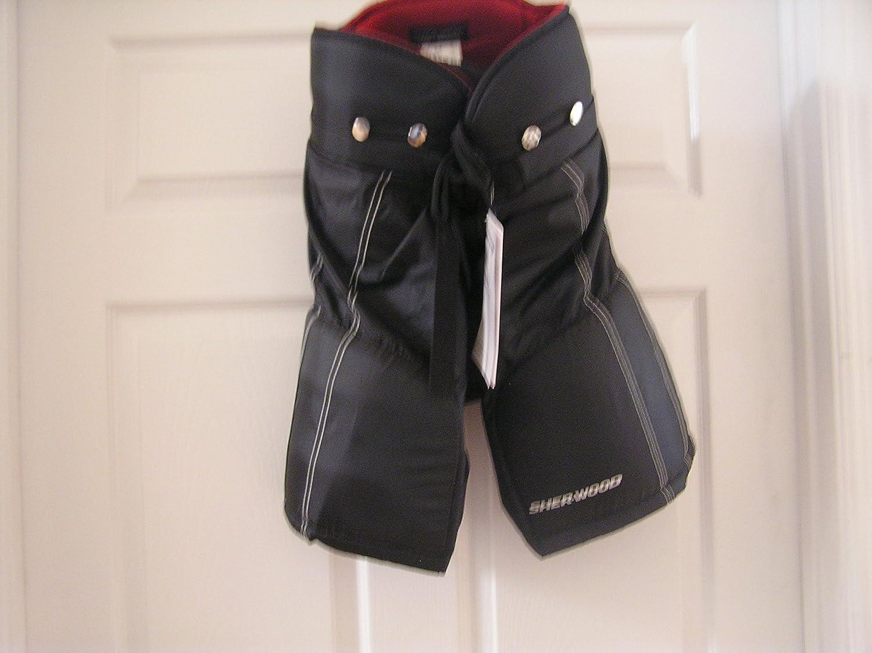 SHerwood 5030 Junior Hockey Pants Black SIze JUnior Large