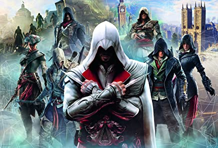 Trefl Puzzle Ubisoft Assassin's Creed. Collage 1500 Parça