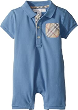 Burberry Kids - Peter Pique One-Piece (Infant)