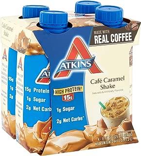 Atkins Ready To Drink Shake, Café Caramel, 11 Ounce, 4 Count