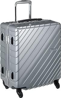 [ヒデオワカマツ] スーツケース フレーム ナロースクエア 軽量 無料預入 85-76520 保証付 55L 55 cm 3.9kg