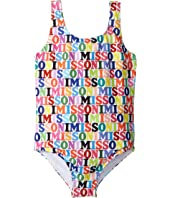 Missoni Kids - Printed Logo Swimsuit (Big Kids)