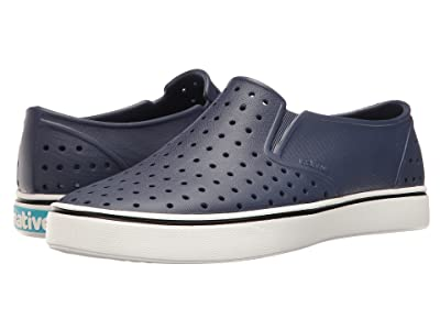 Native Shoes Miles (Regatta Blue/Shell White) Athletic Shoes