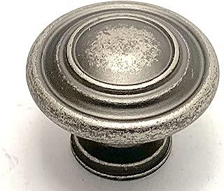 Sonoma Cabinet Hardware Nantucket Knob Antique Pewter 20 Knob Pack NEW Kitchen Custom Solid Knob Knobs