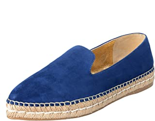 0471107ceb5 Prada Women s Suede Leather Moccasins Loafers Flats Shoes Sz US 9.5 IT 39.5  Blue