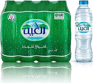 Al Ain Bottled Drinking Water - 500ml (Pack of 12)