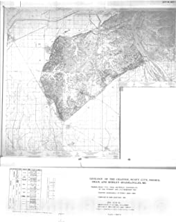 Historic Pictoric Map : Geology of The Chaffee, Scott City, Oran and Morley Seven 1/2' quadrangles, Missouri, 1981 Cartography Wall Art : 24in x 30in