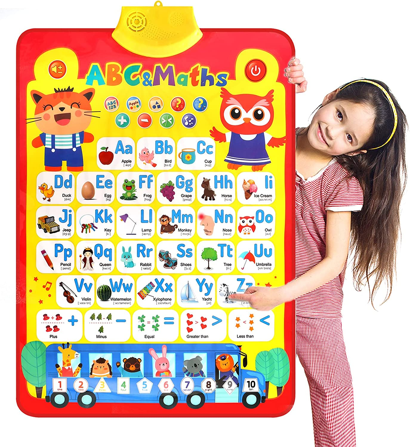 Fenor Learning Toy for Boys and 3 Girls Electron Old Years Max 50% OFF Up All items in the store