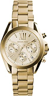 Michael Kors Women's Bradshaw Gold-Tone Watch