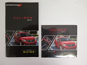 2012 Dodge Caliber Owners Manual Guide Book