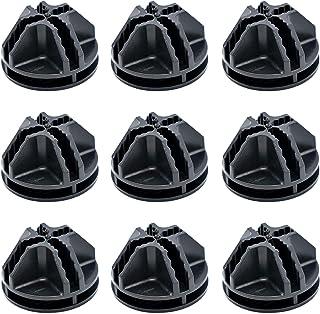 30pcs Cube Connecteurs en Plastique, Connecteur Cube de Rangement, Installer Facilement l'Armoire Modulaire et à Chaussures