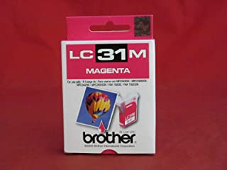 Brother Model LC31M Magenta Ink Cartridge