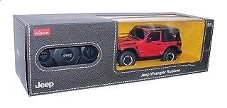 لعبة سيارة جيب رانجلر بريموت كنترول من راستار - احمر