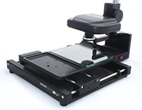 Micro-Image Capture 7 Microfiche Reader Scanner w/ 7-54X lens, Fiche Carrier, Software, Footswitch, Cables & Instructions. 1 Yr. Warranty.
